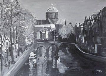 Amsterdam Nieuwe Kerk von Stien Art