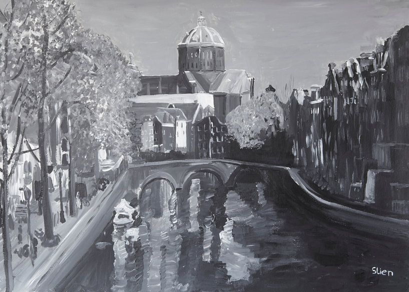 Amsterdam Nieuwe Kerk van Stien Art