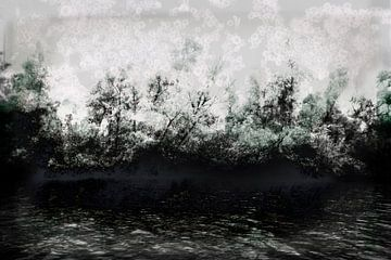Nationaal Park De Biesbosch, de oever #01 van Peter Baak