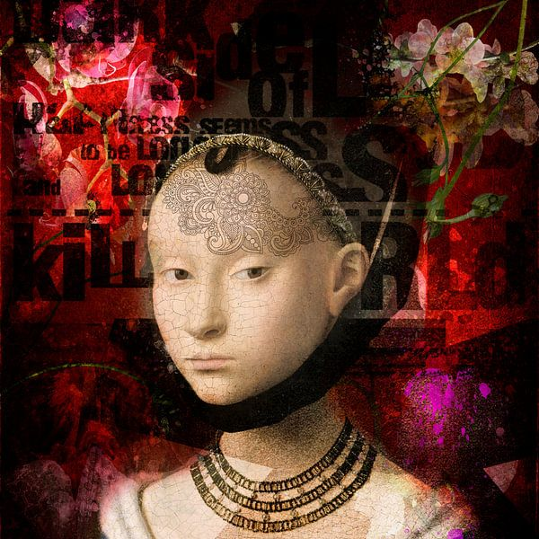 young woman 1470 van Ron jejaka art