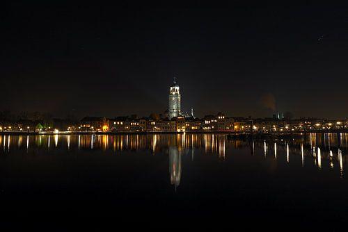 Deventer bij nacht van marc marsman
