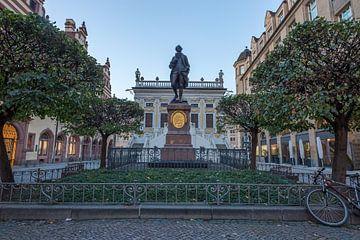 Statue de Johann Wolfgang von Goethe sur Sergej Nickel