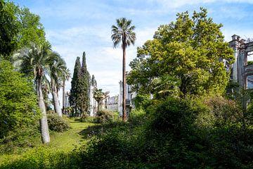 Verlaten Tuin van een Paleis. van Roman Robroek