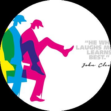 John Cleese Quote van Harry Hadders