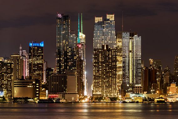 New York    Nachtaufnahme van Kurt Krause