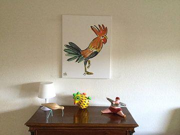 Klantfoto: Le Cock! van Hans Kool