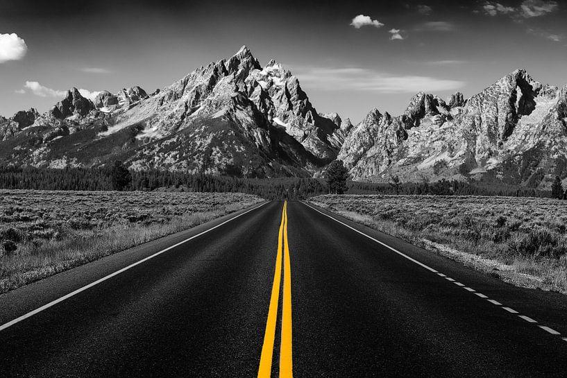 Der Weg in die Berge von Bart van Dinten