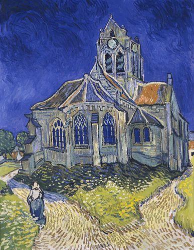 Vincent van Gogh. The Church in Auvers sur Oise