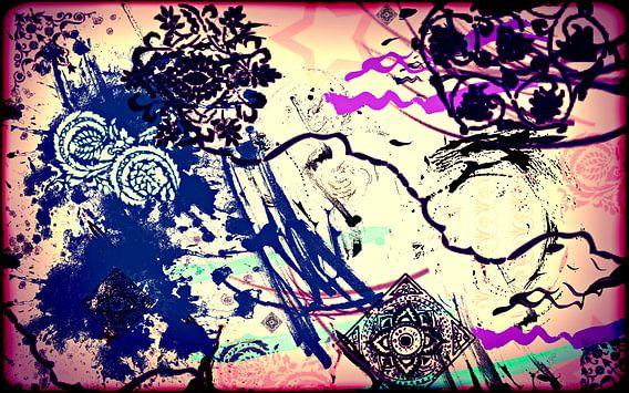 Abstrakt motiv2 van Rosi Lorz