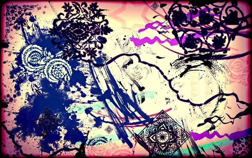 Abstrakt motiv2 von Rosi Lorz