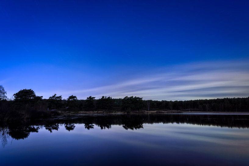 Tinten blauw van Johan Vanbockryck