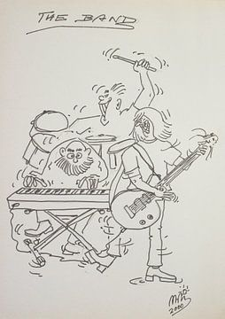 The Band (Die Band) von Wieland Teixeira