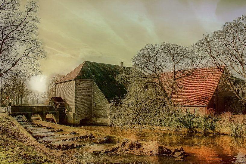 Watermill, Grathem, Limburg, The Netherlands van Maarten Kost