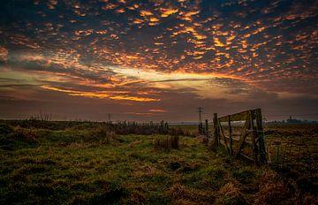Fantastisch wolkenspel von Robin Pics (verliefd op Utrecht)