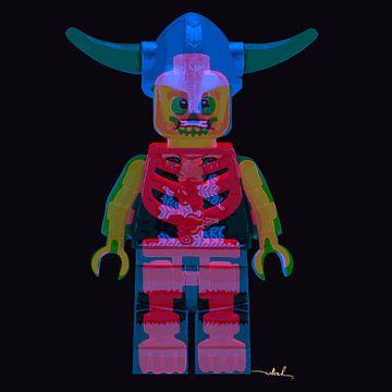Lego double exposure