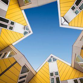 Kubus woningen Rotterdam van Marcel van Balken