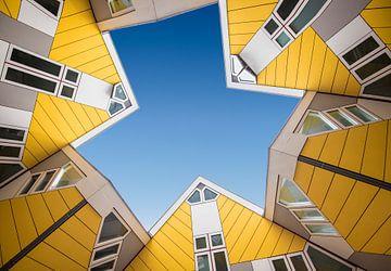 Kubus woningen Rotterdam van