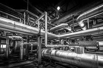 Inneres einer Fabrik von Ruurd Dankloff