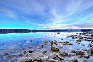 Stenen aan het Starnberg-meer van Roith Fotografie