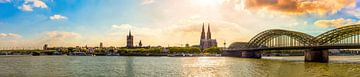 Keulen Panorama van Günter Albers