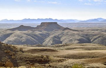 Landschap in Namibië