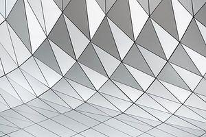 Patroon abstracte geometrische vormen van