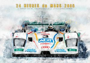 Le Mans winnaar 2005 van Theodor Decker