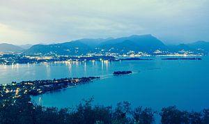 Uitzicht over Gardameer vanaf Rocca di Manerba