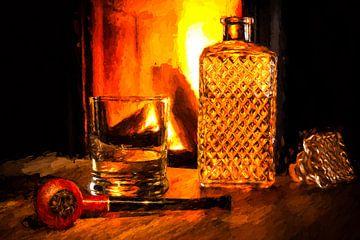 Tabakspijp & whisky van Kahl Design Manufaktur