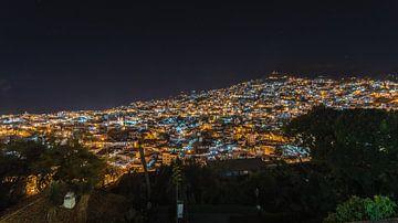 Taxco bij nacht, Taxco by night van Paul Tolen