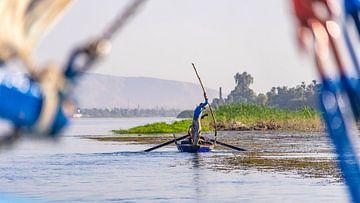 Vissers in Luxor, Egypte van Jessica Lokker