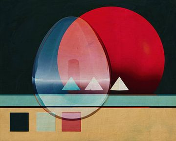 Constructivisme schilderij nummer 18