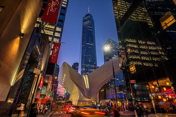 Oculus und One World Trade Center sur Kurt Krause