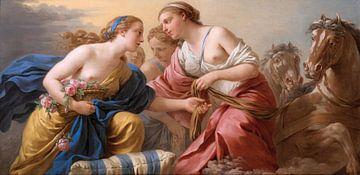 Morgendämmerung, Lagrenée l'aîné - 1772 von Atelier Liesjes