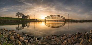 Spoorbrug bij Arnhem von Paul Glastra Photography