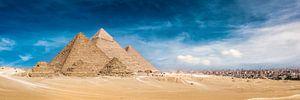 The Great Pyramids of Giza van