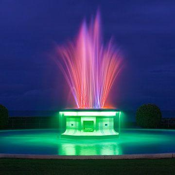 Tom Parker Fountain - Napier - New Zealand van Henk Meijer Photography