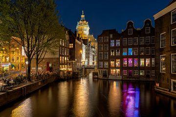 Red Light District Amsterdam van Fotografie Ronald