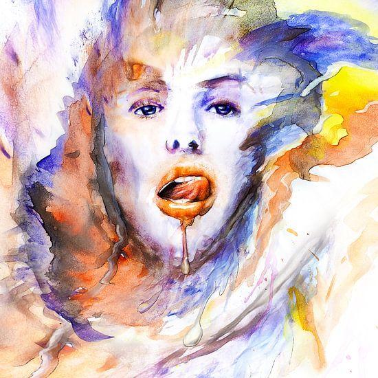 watercolors van Silvio Schoisswohl