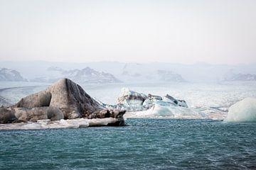 Unrealistische Eislandschaft von Marcel Alsemgeest