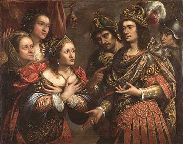 Familie des Dareios vor Alexander dem Grossen, Antonio de Pereda