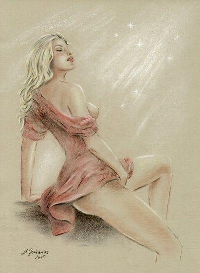 Sexy Girl and Love Charms - erotische kunst van Marita Zacharias