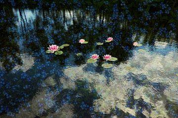 The flower pond van Herman Kremer