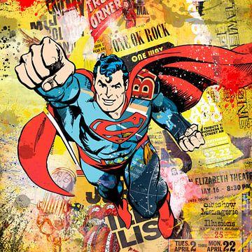 Supermann von Rene Ladenius Digital Art
