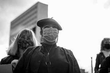 Schwarze Leben sind wichtig Protest 1/3 von klasina van der Hoek