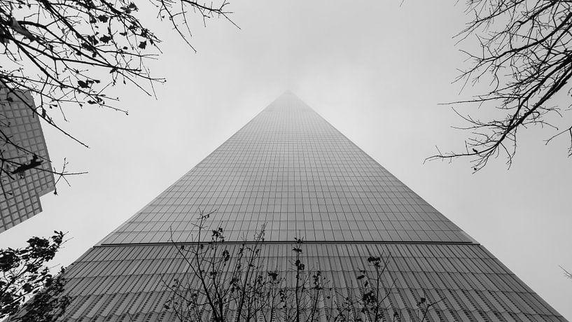 One World Trade Center in de mist van Adelheid Smitt