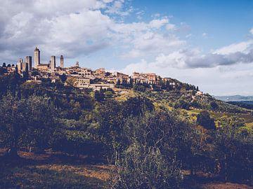 San Gimignano (Tuscany, Italy) sur Alexander Voss