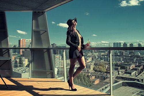 Enjoying the Skyline (nude / naakt)