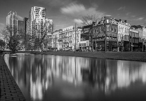 Westersingel Rotterdam van Ilya Korzelius