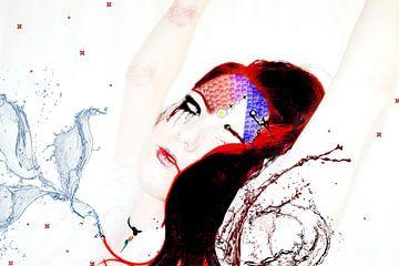Splash water woman von Qunzt dat is andere kunst